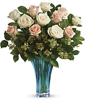 Ocean Of Roses Bouquet Flowers